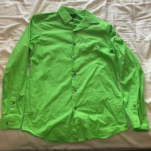 Green Apt.9 dress shirt